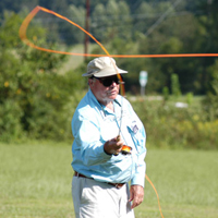 Lefty Kreh - great flycaster, author and instructor